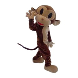 New Monkey Mascot Costume Free Shipping