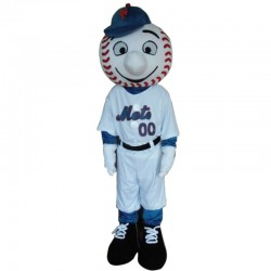 Mr. Met Baseball Mascot Costume
