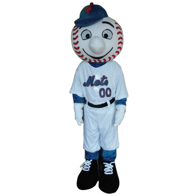 sports shoes ea7c2 4cbb7 Mr. Met Mascot Costume