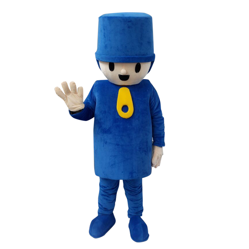 Custom Made Pocoyo Cartoon Mascot Costume