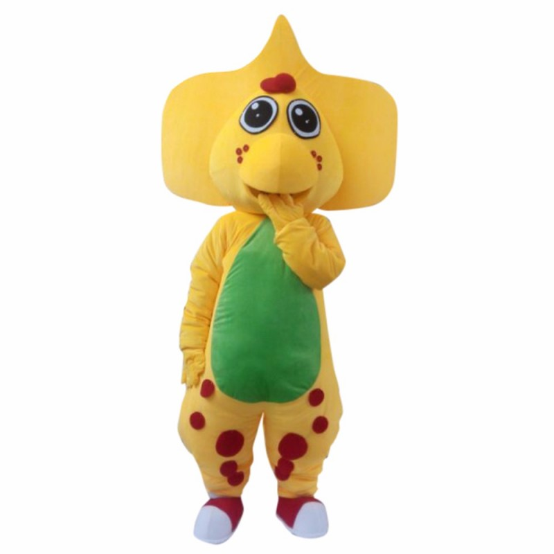 Popular Barney Dinosaur Plush Adult Mascot Costume