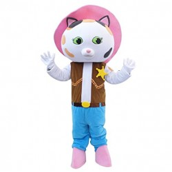 Sheriff Callie's Wild West Sheriff Caillie Mascot Costume
