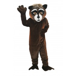 Brown Raccoon Lightweight Mascot Costume