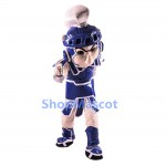 Blue Spartan Trojan Knight Sparty Mascot Costume