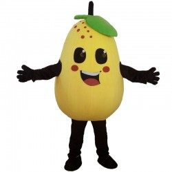 Pear Mascot Costume Fruits Vegetables Costume