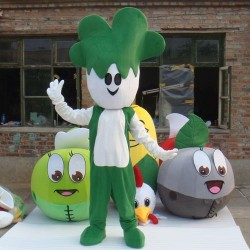 Cabbage Cartoon Mascot Costume