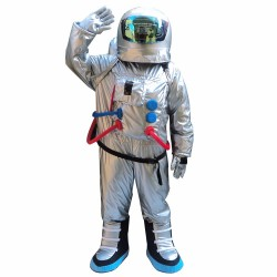 Astronaut Mascot Costume Aerospace Engineering Costume
