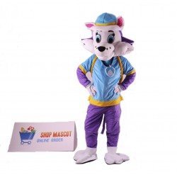 Paw Patrol Snowy Mountain Pup Cartoon Mascot Costume