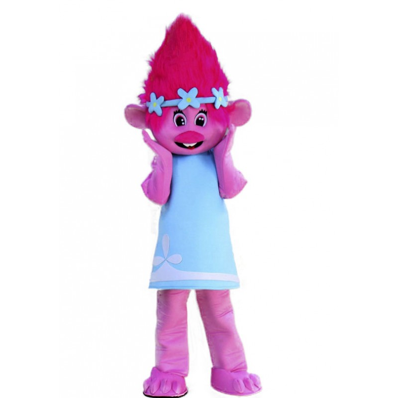 Trolls Princess Poppy Mascot Costume