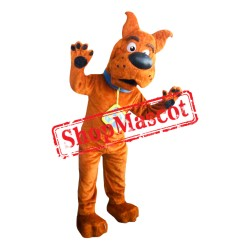 High Quality Scooby Doo Mascot Costume