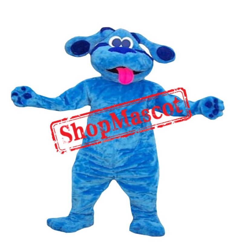 Blue from Blues Clue's Mascot Costume