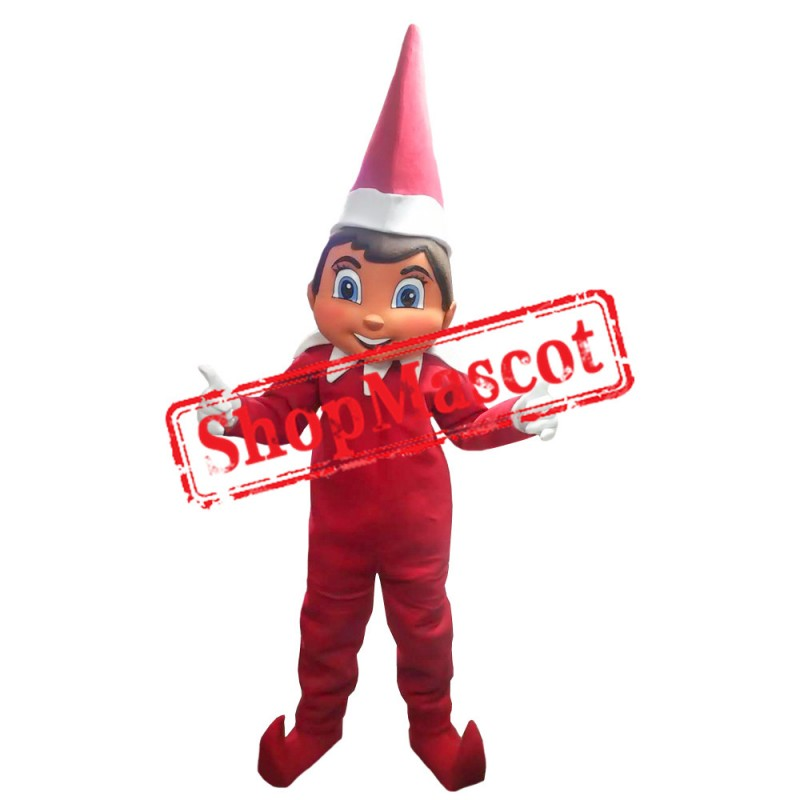 Elf on the Shelf 2 Mascot Costume