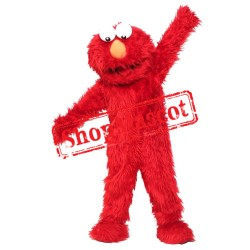 Red Monster Mascot Costume