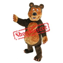 Masha And The Bear Bear Mascot Costume
