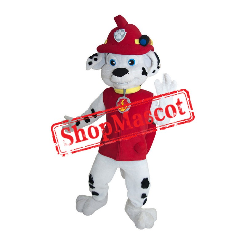 Paw Patrol Red Dog Marshall Mascot Costume