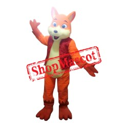 Red Fox Mascot Costume