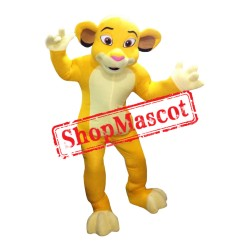 Lion King Costume Simba 2 Mascot Costume