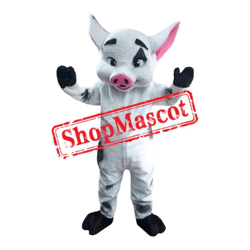 Costume of Pua Pig  the Moana s Pet Mascot Costume