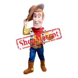 Regular Mr. Woody  Mascot Costume