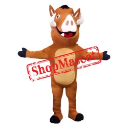 Lion King Costume Pumbaa Mascot Costume