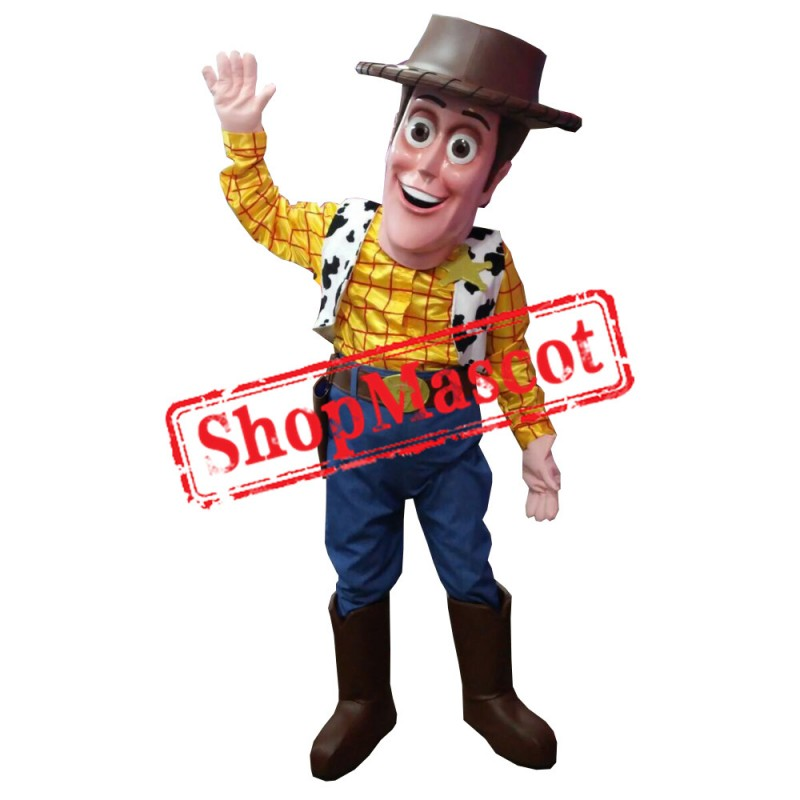Deluxe Mr. Woody Mascot Costume