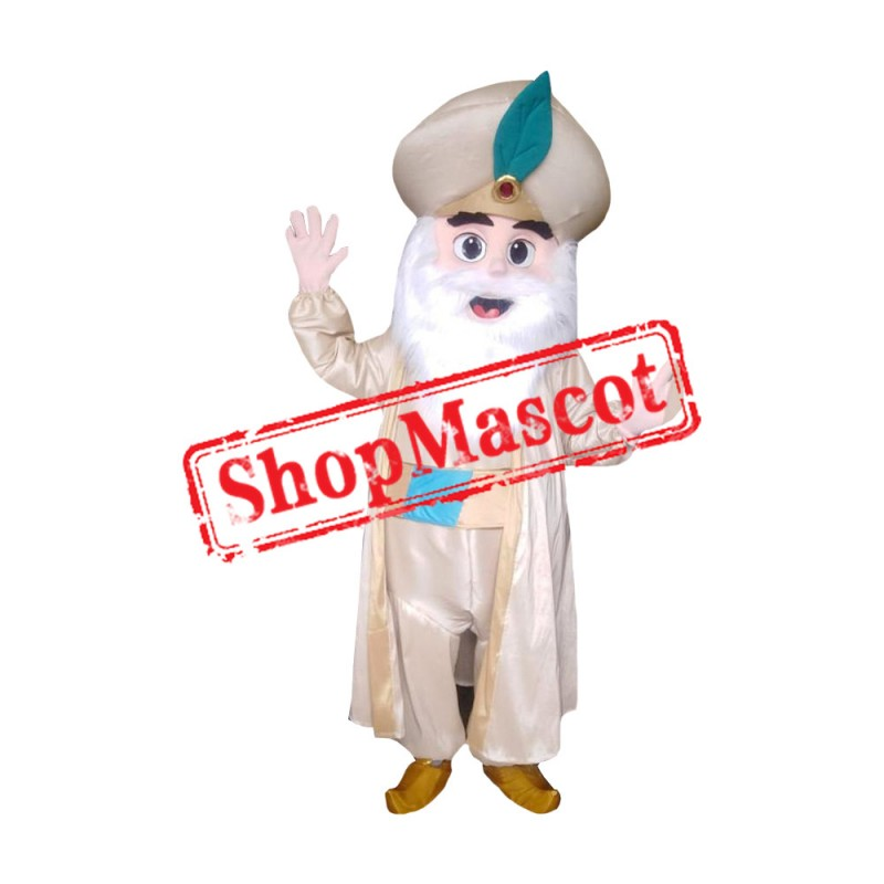 The Sultan Mascot Costume