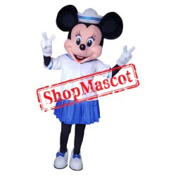 Mouse Clubhouse Sailor Miss Mouse Minnie Mascot Costume