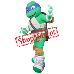 Teenage Ninja Turtles Mascot Blue Turtle 2 Mascot Costume
