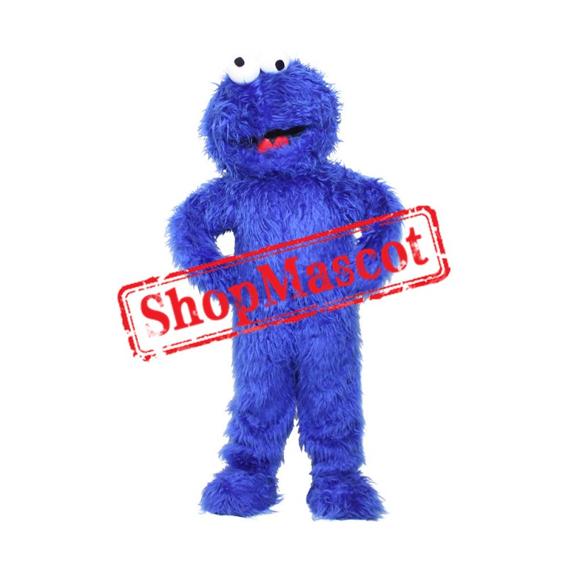 Sesame Street Cookie Monster Costume Mascot Costume