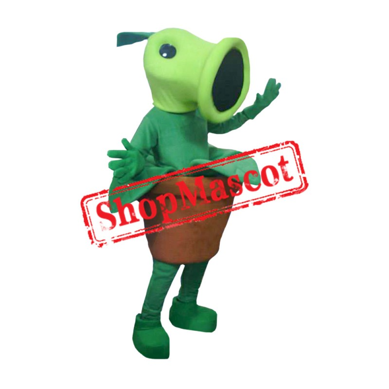 Peashooter Mascot Costume