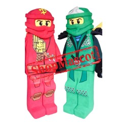 Kai Red Ninjago Mascot Costume