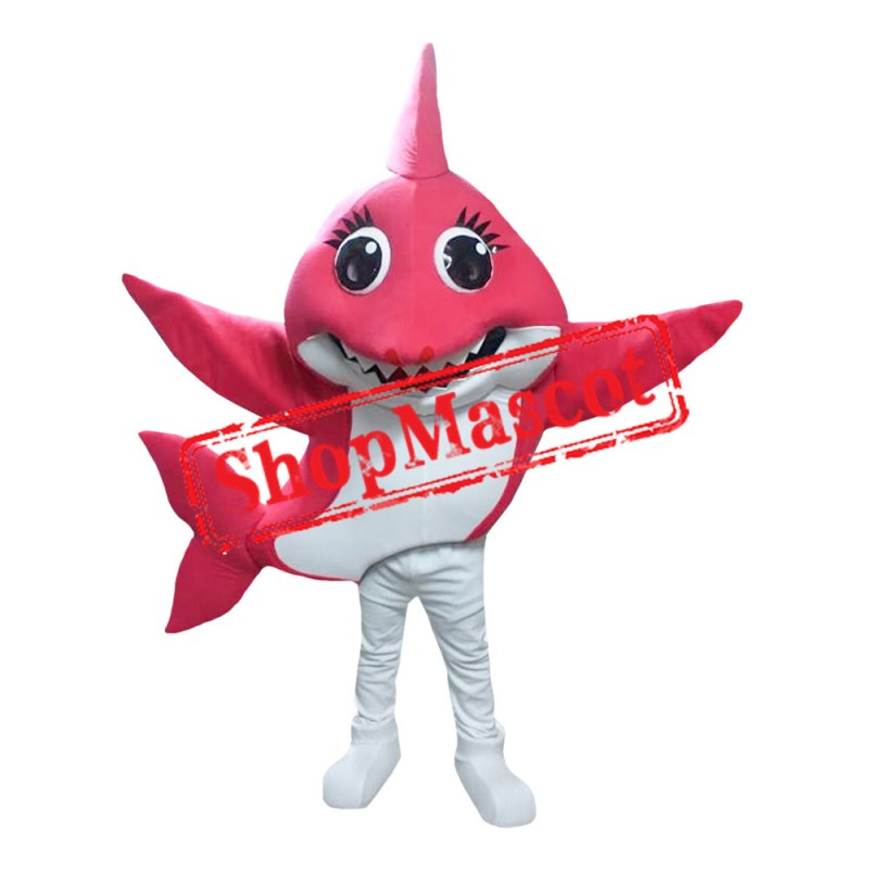 Mommy Shark 1 Mascot Costume