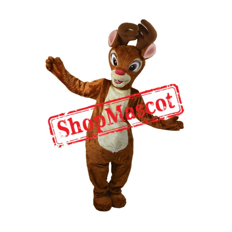 Rudolph The Red Nosed Reindeer 1 Mascot Costume