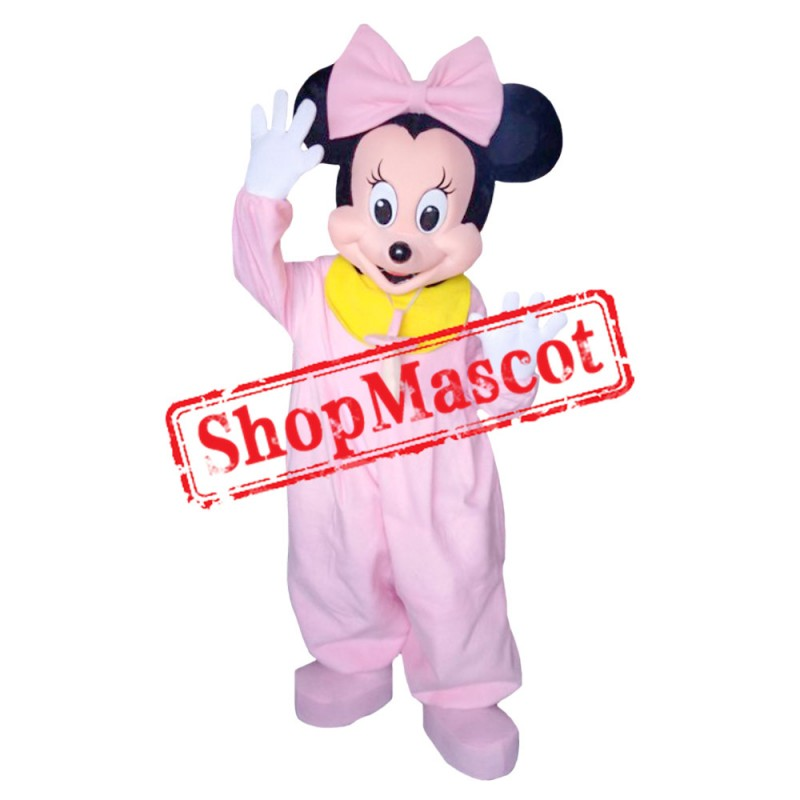 Mouse Clubhouse Baby Miss Mouse Minnie Mascot Costume
