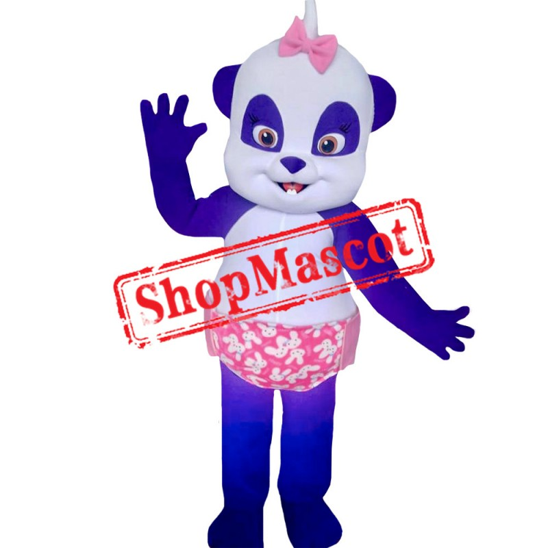 Word Party Lulu the Panda Costume Mascot Costume