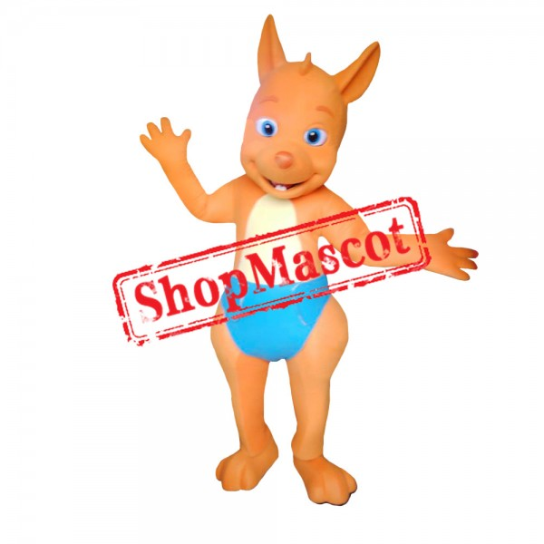 Word Party Kip the Wallaby Costume Mascot Costume