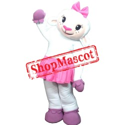 Female Lamb Mascot Costume