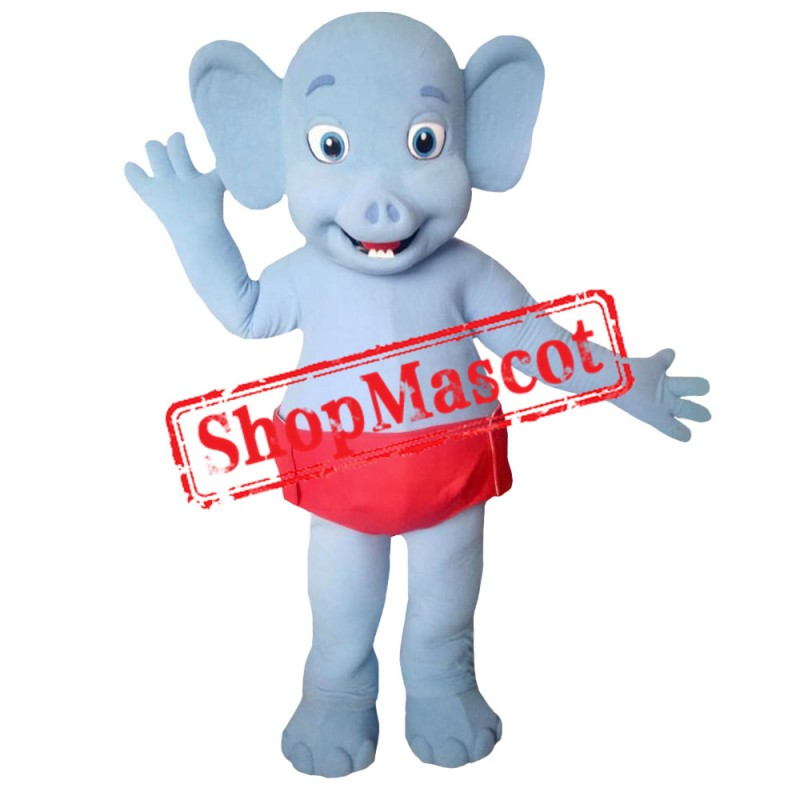 Word Party Bailey the Elephant Costume Mascot Costume