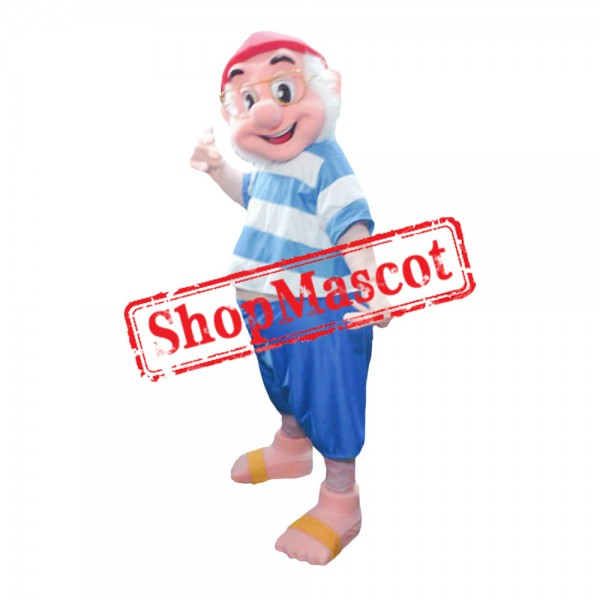 Jake and The Never Land Mr. Smee Mascot Costume