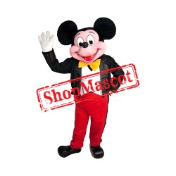 Mouse Clubhouse Deluxe Fiber Mickey Mouse Mascot Costume