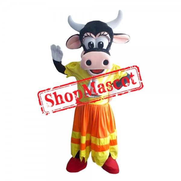 Mouse Clubhouse Clarabelle Mascot Costume