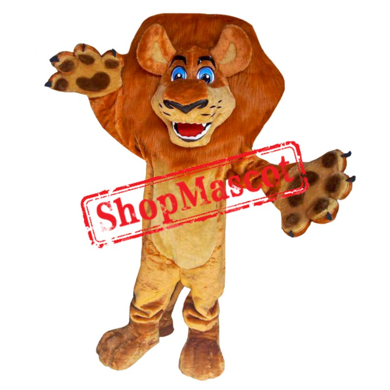 Madagascar Lion 2 Mascot Costume
