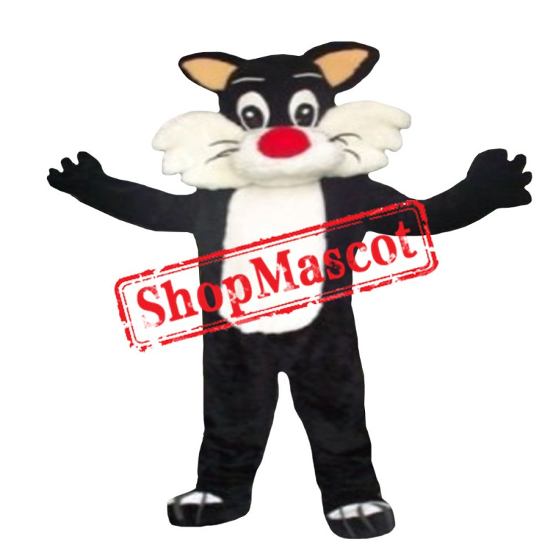 Looney Tunes Sylvester Cat Mascot Costume