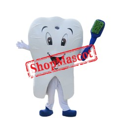 Tooth Mascot Costume