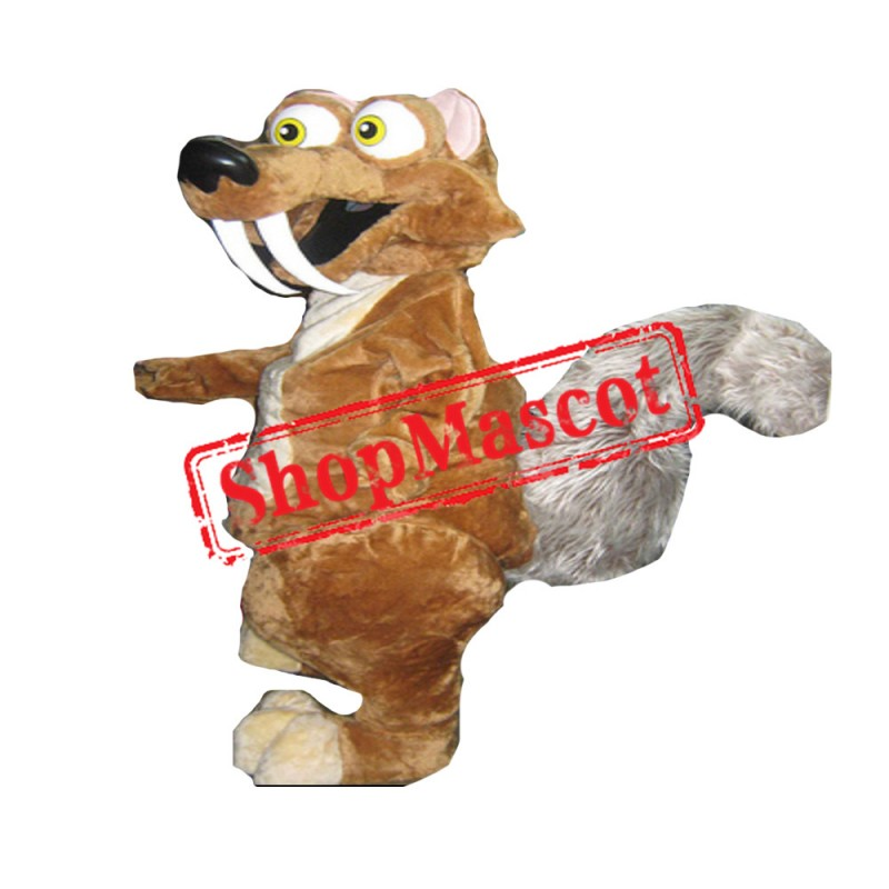 Scrat From Ice Age Mascot Costume