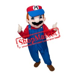 Cute Mario Bros Mascot Costume