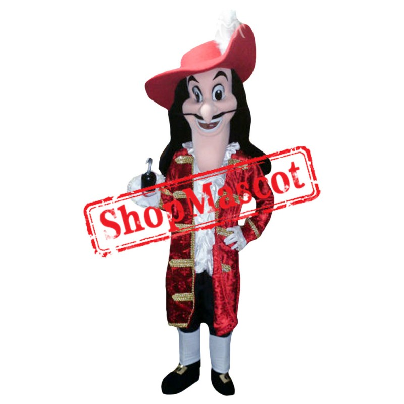 Jake and The Never Land Captain Hook Mascot Costume