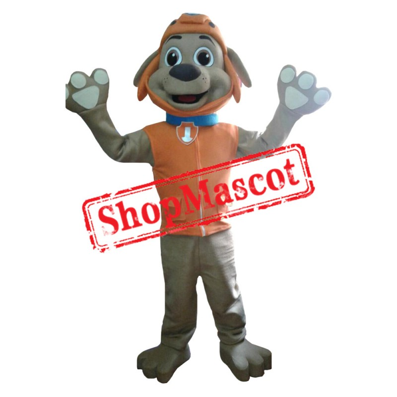 Paw Patrol Orange Dog Zuma Mascot Costume