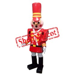Toy Soldier 1 Mascot Costume