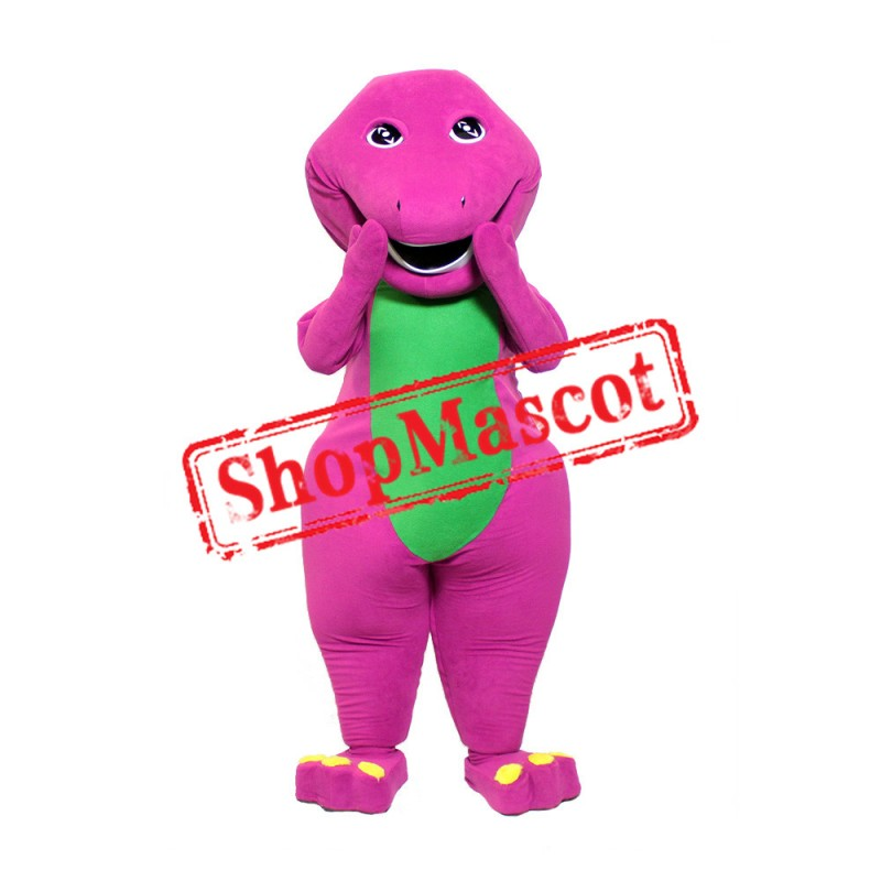 Barney & Friends Barney Mascot Costume